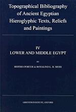 Topographical Bibliography of Ancient Egyptian Hieroglyphic Texts, Reliefs and Paintings IV (Topographical Bibliography, nr. 4)
