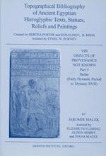 Topographical Bibliography of Ancient Egyptian Hieroglyphic Texts, Statues, Reliefs and Paintings, VIII