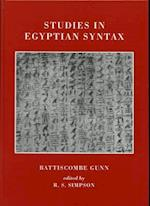Studies in Egyptian Syntax (Griffith Institute Publications)