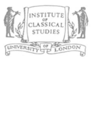 Cicero's Republic (BICS Supplement 76)