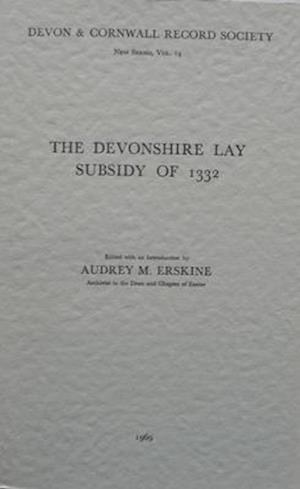 The Devonshire Lay Subsidy of 1332