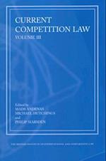 Current Competition Law (Current Competition Law, nr. 3)