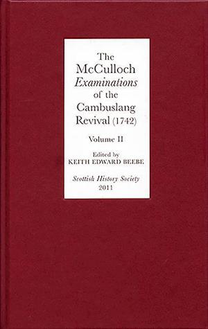 Beebe, K: McCulloch Examinations of the Cambuslang Rev - Con