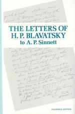 Letters of H P Blavatsky to A P Sinnett
