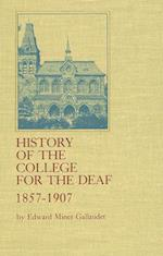 History of the College for the Deaf, 1857-1907