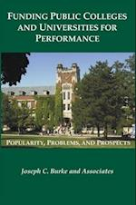 Funding Public Colleges and Universities for Performance (Rockefeller Institute Press)