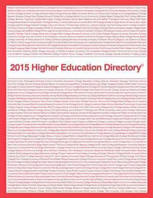 Bog, paperback Higher Education Directory af Publications Higher Education