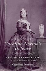 Caroline Norton's Defense