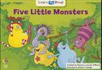 5 Little Monsters (Learn to Read Math Series, nr. 3727)