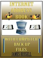 Internet Address Book with Computer Back Up Files