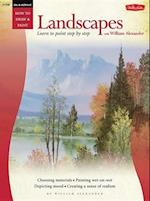 Oil & Acrylic: Landscapes with William Alexander (How to Draw and Paint Series, nr. 208)