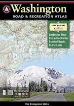 Washington Road & Recreation Atlas (Benchmark Map Washington Road Recreation Atlas)