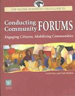 Conducting Community Forums