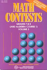 Math Contests - Grades Seventh and Eighth (nr. 3)