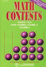 Math Contests - Grades 7 and 8 and Algebra Course 1 (nr. 4)