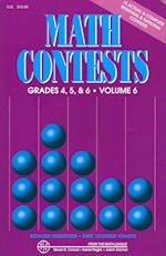 Math Contests For Grades 4, 5, and 6 (Math Contests, nr. 6)