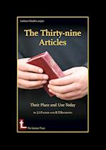 The Thirty-Nine Articles: Their Place and Use Today af Roger T. Beckwith, James I. Packer