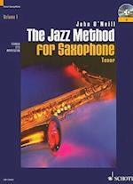 The Jazz Method for Saxophone, Volume 1 af John O'neill