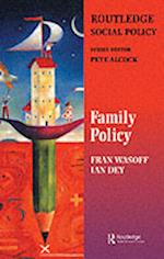 Family Policy (Gildredge Social Policy Series)