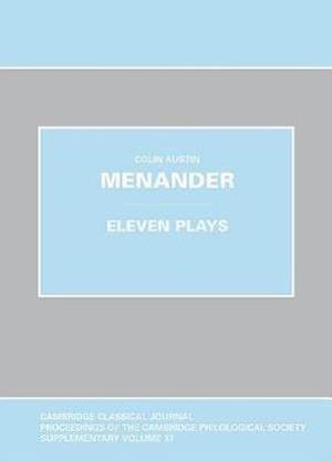 Menander: Eleven Plays
