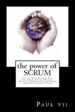 The Power of Scrum, in the Real World, for the Agile Scrum Master, Product Owner