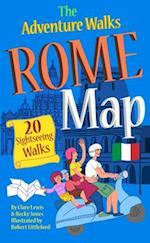 The Adventure Walks Rome Map