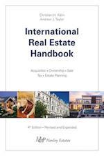 International Real Estate Handbook af Christian H Kalin