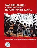 War Crimes and Crimes Against Humanity in Sri Lanka