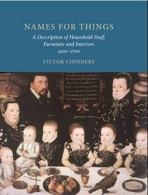 Bog, hardback Names for Things af Victor Chinnery
