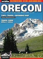 Oregon Topo-Travel-Reference Map (American Landscapes, nr. 2)