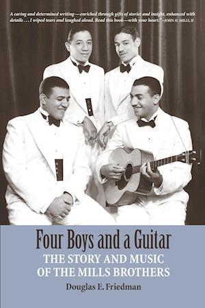 Bog, paperback Four Boys and a Guitar af Douglas E. Friedman