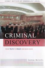 Criminal Discovery (Institute of Criminology monographs)