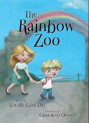 Bog, hardback The Rainbow Zoo af Lucille Lang Day