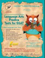 Language Arts Practice Tests for Gsat