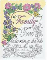 Family Tree Coloring Book
