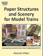 Paper Structures and Scenery for Model Trains