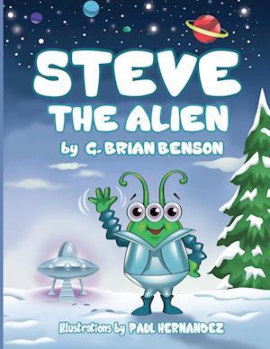 Bog, hæftet Steve The Alien af G.  Brian Benson