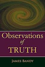 Observations of Truth