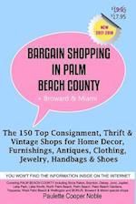 Bargain Shopping in Palm Beach County