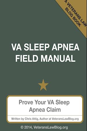 Bog, hæftet VA Sleep Apnea Field Manual af Chris Attig