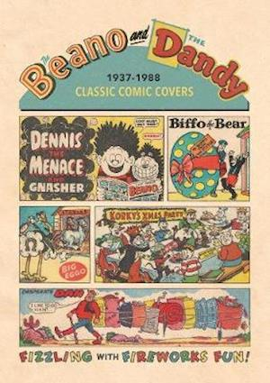 Beano and The Dandy Classic Comic Covers 1937-1988