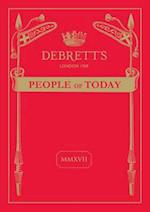 Debrett's People of Today: 2017 (People of Today)