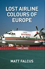 Lost Airline Colours of Europe Timelines af Matt Falcus