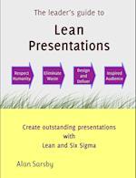 Lean Presentations af Alan Sarsby