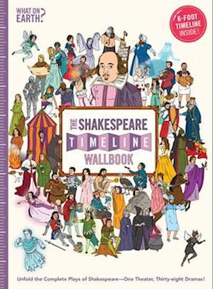 Bog, hardback The Shakespeare Timeline Wallbook af Christopher Lloyd