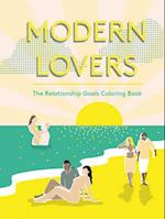 Modern Lovers Colouring Book