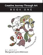 Creative Journey Through Art; Book One, Adult Colouring Book
