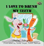 I Love to Brush My Teeth af Shelley Admont