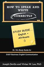 How to Speak and Write Correctly: Study Guide (English + Afrikaans) af Joseph Devlin, Vivian W Lee