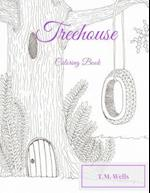 Treehouse Coloring Book